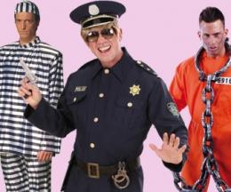 Policias y presidiarios