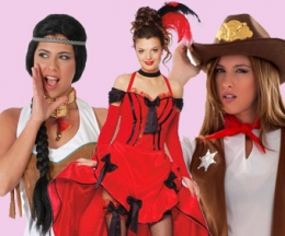 Indias,Vaqueras y Chicas de Saloon