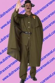 disfraz guardia civil con capa
