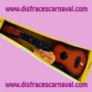 guitarra española para disfraz