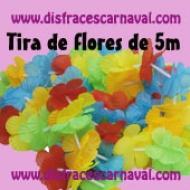 Tira de flores de 5m