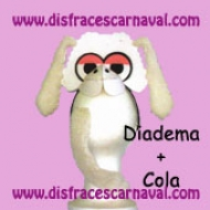 Diadema + Cola Oveja