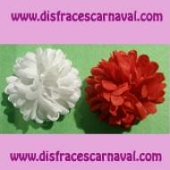 Pinza 2 flores multipetalo