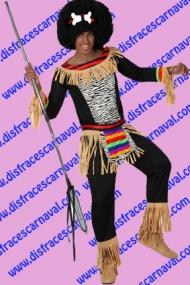 disfraz indigena tribal