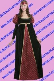 disfraz medieval dama ofelia