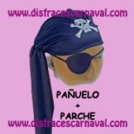 Pañuelo Pirata + parche