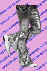 Pantalon Lame Plata Campana