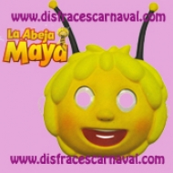 Careta Abeja Maya Plastico