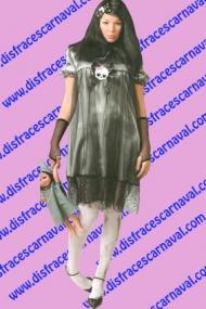 disfraz muñeca terrorifica halloween