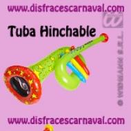 Tuba hinchable 63cm