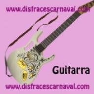 Guitarra Rock Blanca