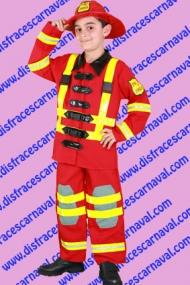 disfraz bombero niño