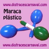 maraca de plastico