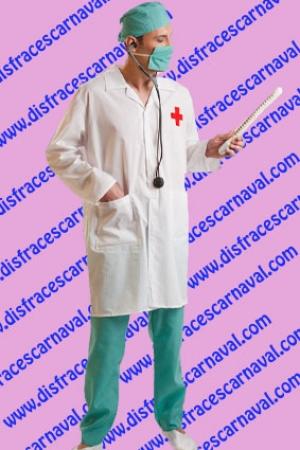 disfraz medico doctor