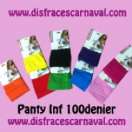 Panty Inf 100D Fuxia