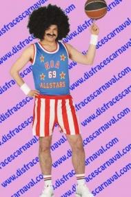 disfraz jugador baloncesto