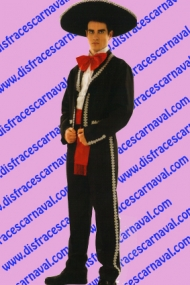 disfraz mariachi mejicano hombre