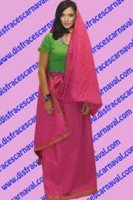 disfraz indu mujer