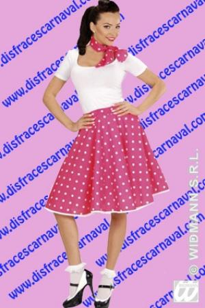 falda años 50