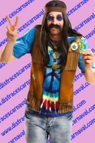 Camiseta Hippie Man