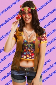 Camiseta Hippie Girl
