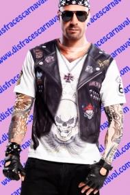 Camiseta Rockero/ Motero