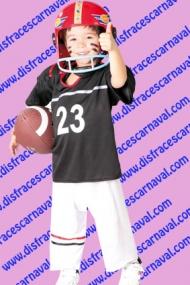 disfraz jugador futbol americano rugby