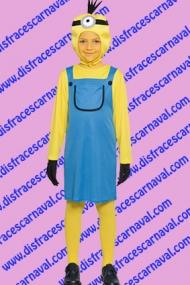 Minnion Vestido Niña
