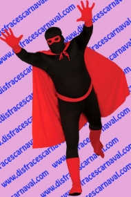 Conjunto superhéroe rojo