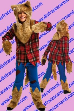 Hombre Lobo Disfraces Carnaval