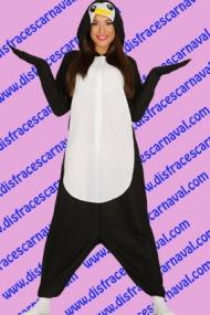 disfraz pinguino pijama