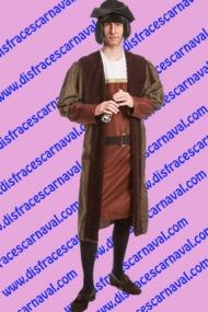 disfraz Colon mercader medieval