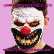 mascara de payaso asesino terror
