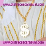 collar simbolo del dolar