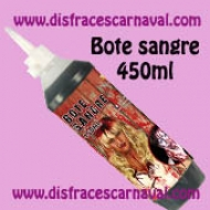 Bote 450ml sangre ficticia