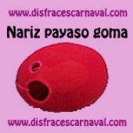 Nariz Payaso Goma