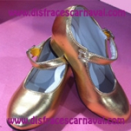 Zapato Princesa Oro Import