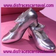 Zapato Princesa Plata Import