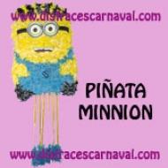 Piñata Papel Seda Minnion