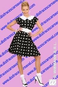Vestido mujer años 50