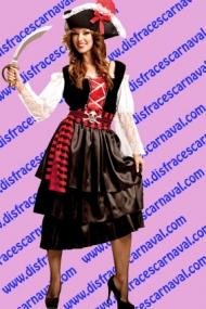 disfraz piratesa
