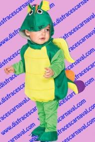 Disfraz dragon verde dos piezas