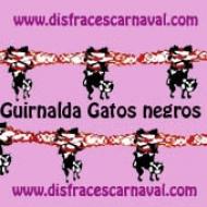 Guirnalda Gatos 4m