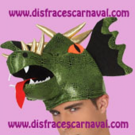 3e73ffd78c174 Gorro Dragon alado - Disfraces CARNAVAL