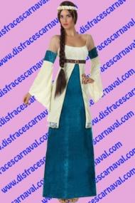 disfraz dama medieval lady ginebra