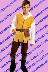 disfraz campesino medieval niño