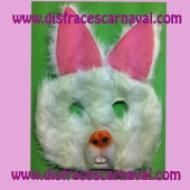 antifaz conejo