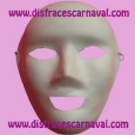 mascara neutra blanca para pintar