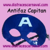 antifaz capitan america