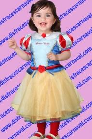 disfraz blancanieves bebe